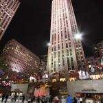 Die Eisbahn vor dem Rockefeller Center