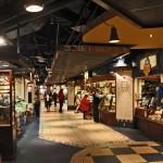 Eines der unterirdischen Einkaufszentren