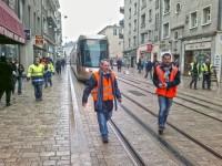 Testfahrt Tram B Orléans