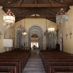 Oratory von Germigny-des-Prés Kirchenschiff