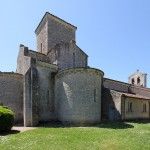 Oratory von Germigny-des-Prés Nordseite
