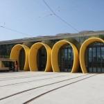 Das neue Tram Depot der Linie B in Orléans