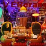 VEB Orange mit vielen DDR Accessoires