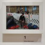 """Das erste Bild: """"Beim Warten um als Erster mein Kunstwerk abzugeben"""" von Oliver Behrmann"""