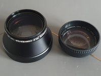 2 Telekoncerter: Canon 1.4 55mm / Raynox 1.5x